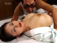 japanese cutie receives muff licked
