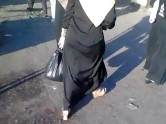 arab street voyeur - large booty candid - spying