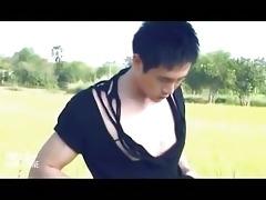 homo asian pornstars caught on film