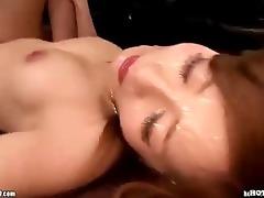 japanese beauties attacked jav wife in bathroom