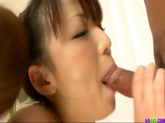 double ramrod act with enthusiastic chickk asuka