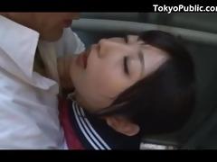 43 yo japan schoolgirl public pickup