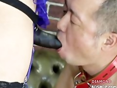 perverted female-dominant with latex agonorgasmos