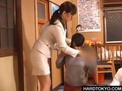 oriental students sharing lewd shlong