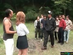 hardcore outdoor sex with oriental cutie movie-18
