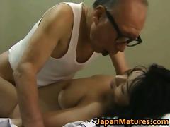 hawt oriental playgirl has older sex