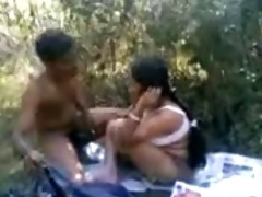 breasty northindian aunty having fuck with