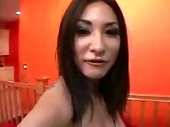04 year old oriental gal drilled pov