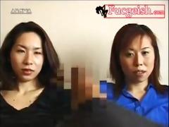 japanese college girls see boy jerk off movie