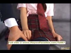 miyu hoshino blameless chinese schoolgirl being