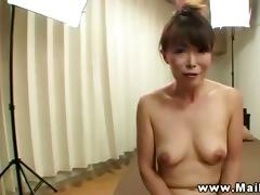 oriental aged in shower sucks on pecker previous
