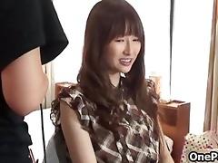 cute japanese legal age teenager gal disrobes