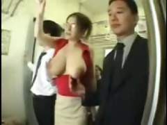 large milk sacks oriental groped on teach