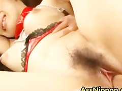 breasty oriental sweetheart acquires muff part1
