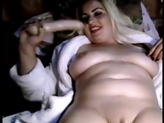arab woman shows her shaven slit