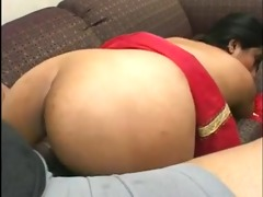 appealing indian beauty with a great a-hole sucks