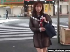 flasher hawt japanese hotty receive banged