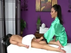 lesbo oriental masseuse acquires naughty