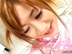 japanese redhead legal age teenager eating warm