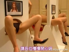 oriental gals licked on gloryhole