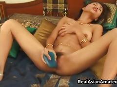 asian dilettante girl vibrator fucking her part7