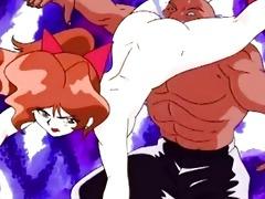 japanese anime swing head screwed