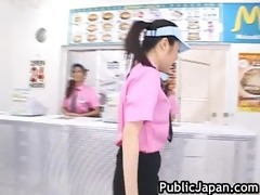 excited oriental cutie receives excited in the