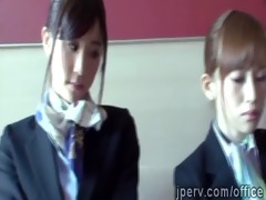 10 hot japanese stewardess serv a perv in his