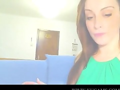 turkish student love to tease on livecam