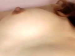 oriental preggers being cum-hole slammed