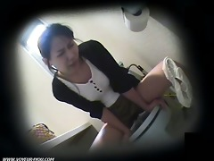 water closet masturbation on hidden camera