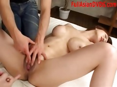 playing with hawt oriental twat uncensored