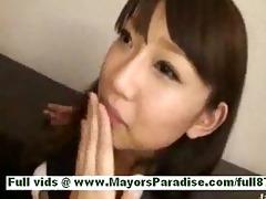 shiori hazukmature oriental doxy at work receives