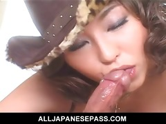 cowgirl up with a sexy dick engulfing
