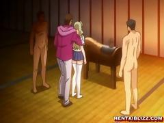 japanese anime coed groupfucking wetpussy