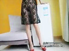 silkbaby cheongsam nylons show