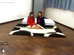 mongolian ffm trio in hotel room