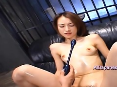slutty hottie acquires face drenched in spunk cum