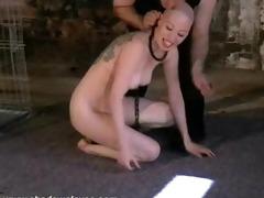 caged oriental slavegirl kumimonsters tit