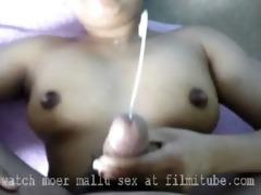 mallu wife cum discharged