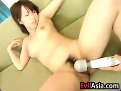 pleasant oriental bawdy cleft getting soaked