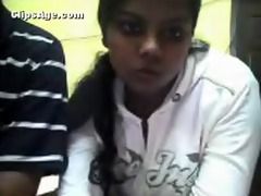 genius desi chap with his wife on livecam for