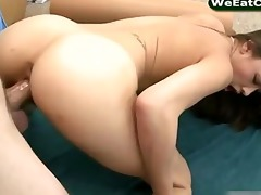 oriental playgirl ariel rose sucks off