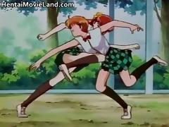 sexy wicked redhead manga chick have pleasure
