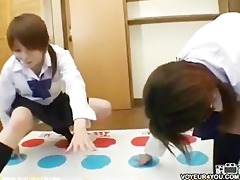 twister game under panties