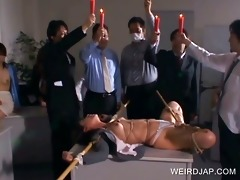 oriental serf acquires body punished