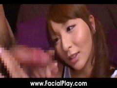 bukkake now - hawt japanese bitches love facial