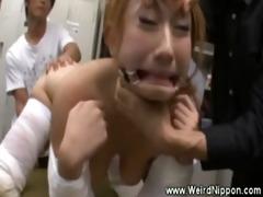 gorgeous oriental whore s garb as sex bondman