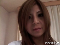 handsome japanese doxy receives mangos vibrated