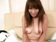 aged japanese maiko teasing with her hairy wet